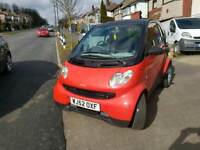 SMART FORTWO 0.6 CITY 2002 Petrol 3DOOR, SEMI-AUTOMATIC,