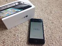 Iphone 4s, unlocked, superb condition, otter case, original box