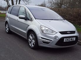 2012 Ford S-Max Titanium 2.2 TDCi, 7 Seater, FSH, 6 Speed, Bluetooth, Climate, Cruise, Two Keys