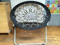 Circular Bungee Foldable Garden Chairs - Comfortable and suitable of indoor or outdoor use