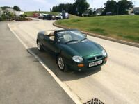 Stunning MGF convertible, new MOT, FSH, 1 previous owner £1250 ONO