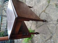 Antique Elm Drop leaf table