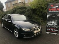 2010 AUDI A4 2.0 TDI S LINE QUATTRO 2YEARS WARRANTY SPECIAL EDITION S/S FULLY LOADED diesel 4x4 4WD