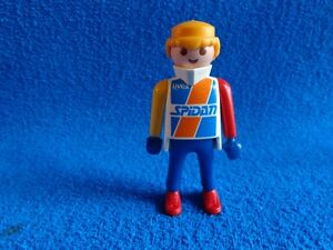 Playmobil-Hombre-deportista-Uvex-Spidan-Good-year-Man-Sportman-Sportler-red-shoe