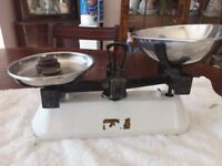 Old style scales over 90 years old