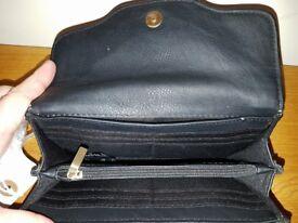 Jasper Conran Leather Black Purse