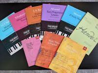 Piano sheet music: Mozart, Handel, Bach, Tchaikovsky, Attwood - NEW, £3 each