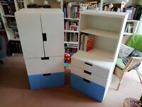Children's IKEA bookcase storage unit. Good condition, excellent storage for kids bedroom.