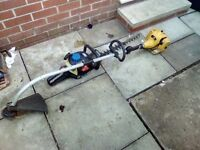 Petrol strimmer plus edge trimmer for spares