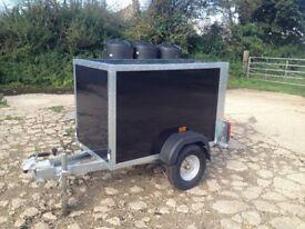 New Tickner Box Trailer 5x3x3ft camping trailer