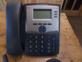 We have nine(9) desk top phones Cisco to sell,some with Ethernet Adaptor splitters.