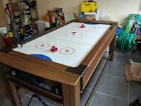 pool and combo hockey table for sale.