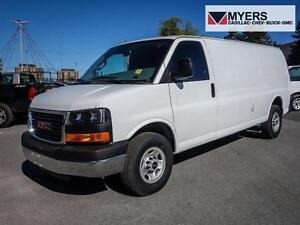 2016 GMC Savana 3500 Savana 3500 Cargo, Chrome bumpers, G-80 loc