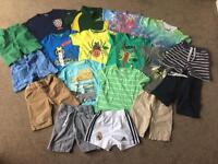 18 Piece Debenhams / M&S etc Boys Spring / Summer Clothes Bundle 2-3 Years