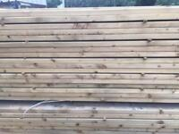 Timber rails 4x2 3x2 easy edge c16