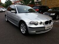 2003 BMW 320TD COMPACT DIESEL 6 SPEED MANUAL FULL SERVICE HISTORY Long MOT