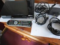 Sagecom digital video recorder with freeview and HDMI output.