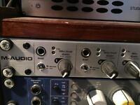 M Audio USB audio interface