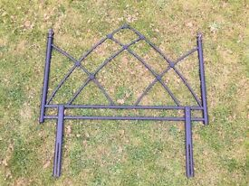 Wrought Iron Double Bed Head
