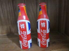 2012 Olympics Commemorative Coca Cola Bottles