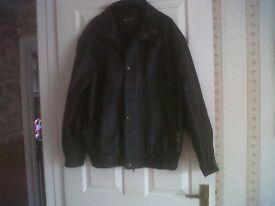 Leather Jacket: