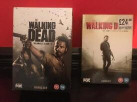 DVD box sets including the walking dead, shameless, the sopranos and breaking bad