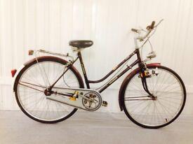 Khalkhov Classic Vintage city bike Fully service Low step through Pristine Condition