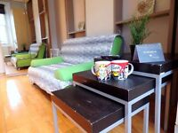 STUDIO FLATS AVAILABLE NOW- FOR COUPLE/STUDENTS - FREE WIFI - FREE LAUNDRY - TV 32' - ALL INC