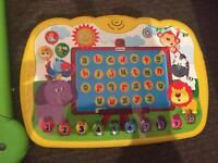 Little tikes learning keyboard.