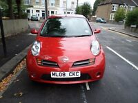 AUTOMATIC NISSAN MICRA 2008 LOW TAX LOW MILEAGE LOW INSURANCE