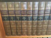 Encyclopaedia Britannica 1971 Edition with bookcase in pristine condition