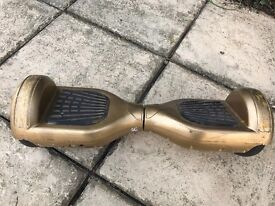 Gold Segway works fine a few scratches
