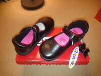 Girls Chipmunks School Shoes - Brand new leather - Size 10