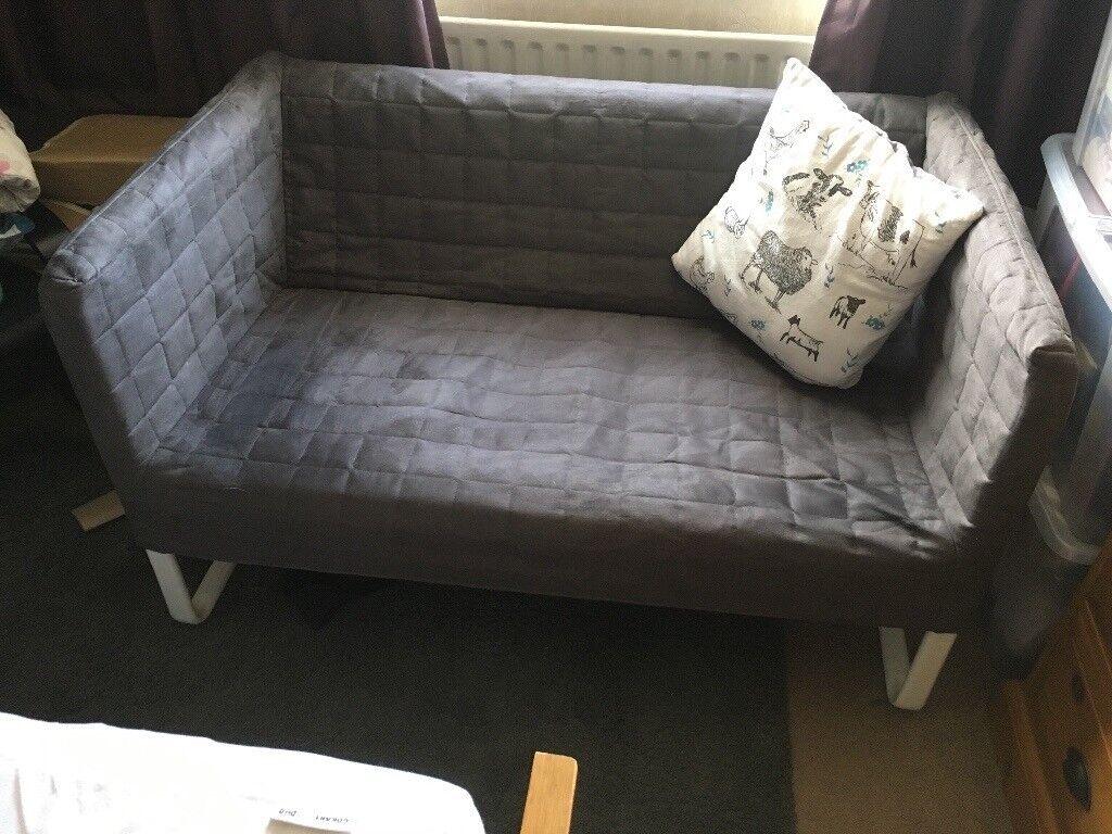 Ikea Knopparp Sofa Grey