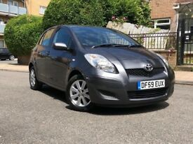 TOYOTA YARIS HATCHBACK 2010 1.33 VVT-I TR 5 DOOR HPI CLEAR