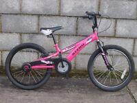 pink bike bmx style nitro 20''