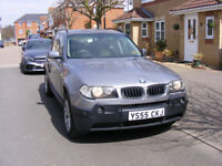 BMW X3, 2.0D, Estate, 2005, Manual, 5 doors