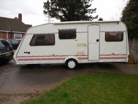 Fleetwood Garland 165 5 Berth Caravan 1996 For Sale