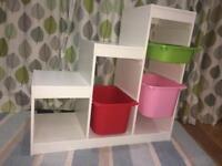 Adjustable Storage Shelves cabinet.