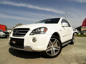 2011 Mercedes-Benz M-Class ML63 AMG + 4MATIC + NAVI + TV/DVD + 5