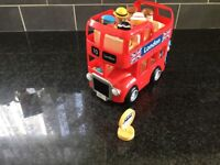 Happyland London bus and 7 figures