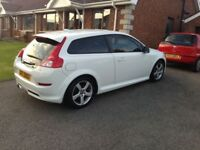 Volvo C30 r design white 1.6 full year mot (not golf Passat bmw Astra)