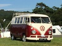 VW Splitty Looking for a new home First class restoration split screen Volkswagen bus