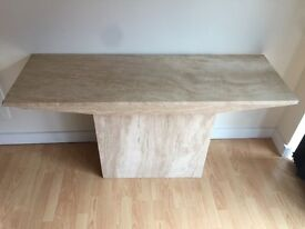 Marble /Travertine Stone Console Table