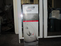 mira sport electric shower white &chrome 7.5 kw new in box