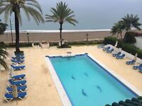 First line beach Marbella town house
