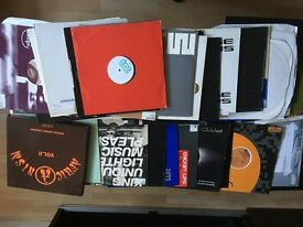 Assorted 70+ vinyl of early 2000 tech/prog/tribal/deep house - Buy the Lot