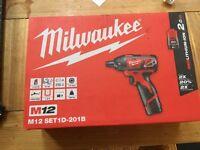 Milwaukee M12 set 1D