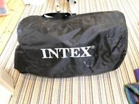 Intel deluxe double inflatable bed