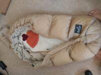 European sleeping bag for your buggy